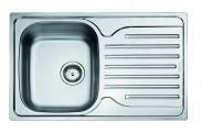 Franke - drez nerez PXN 611-78 3 1/2, 780x490 mm (strieborná)