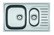Franke - drez nerez PXN 651-78 3 1/2, 780x490 mm (strieborná)