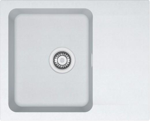 Franke - drez Tectonite OID 611-62, 620x500 mm (biela)