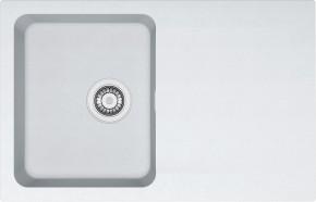 Franke - drez Tectonite OID 611-78, 780x500 mm (biela)
