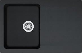 Franke - drez Tectonite OID 611-78, 780x500 mm (čierna)