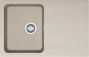 Franke - drez Tectonite OID 611-78, 780x500 mm (kávová)