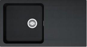 Franke - drez Tectonite OID 611, 940x510 mm (čierna)