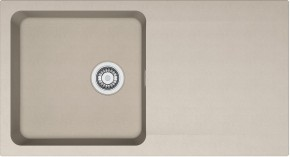 Franke - drez Tectonite OID 611, 940x510 mm (kávová)