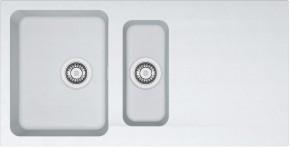 Franke - drez Tectonite OID 651, 1000x510 mm (biela)