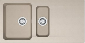 Franke - drez Tectonite OID 651, 1000x510 mm (kávová)