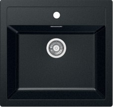 Franke - drez Tectonite SID 610, 560x530 mm (čierna)