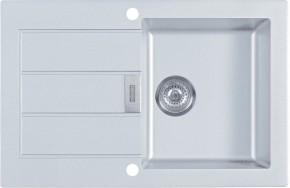 Franke - drez Tectonite SID 611-78, 780x500 mm (biela)