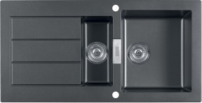 Franke - drez Tectonite SID 651, 1000x510 mm (čierna)