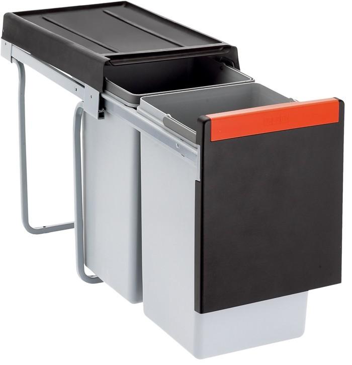 Franke - sorter cube 30 - 2x15 l (čierna)
