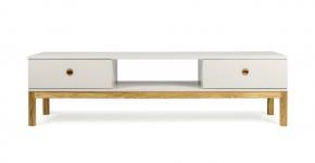 Fresh - TV stolík, 3562-083 (dub/teplá sivá)