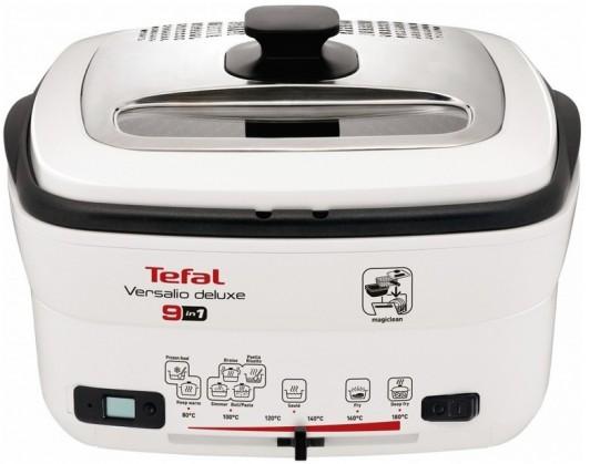 Fritovací hrniec Fritéza Tefal Versalio Deluxe FR495070, 9v1, 2l