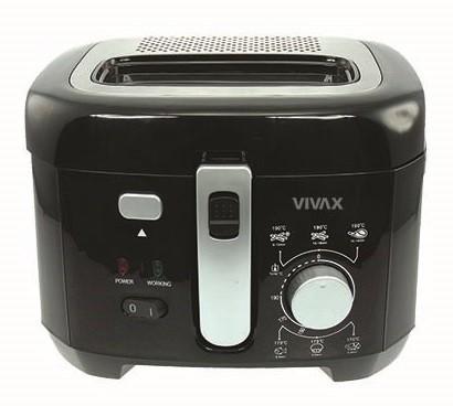 Fritovací hrniec Fritéza Vivax DF-1800B