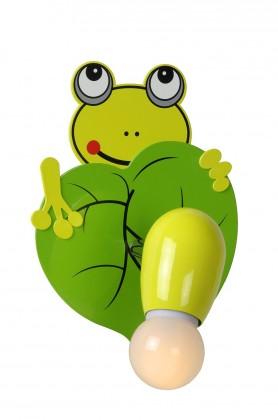 Froggy - nástenné osvetlenie, 9W, E14 (zelená)
