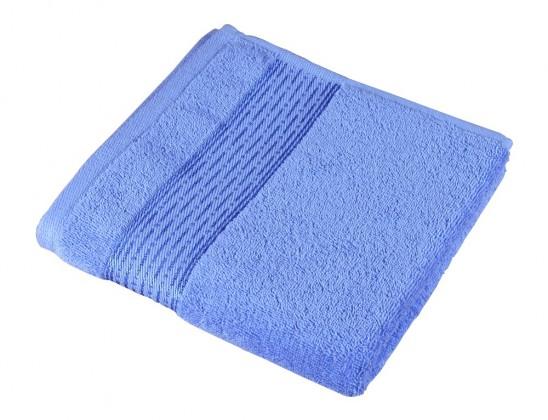 Froté osuška Kamilka, prúžok, 70x140cm (modrá)