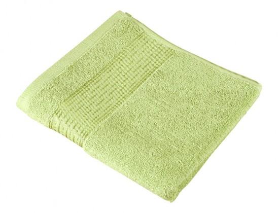 Froté osuška Kamilka, prúžok, 70x140cm (svetle zelená)