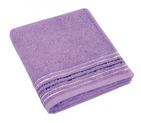 Froté uterák, fialová rada, 50x100cm (fialová)