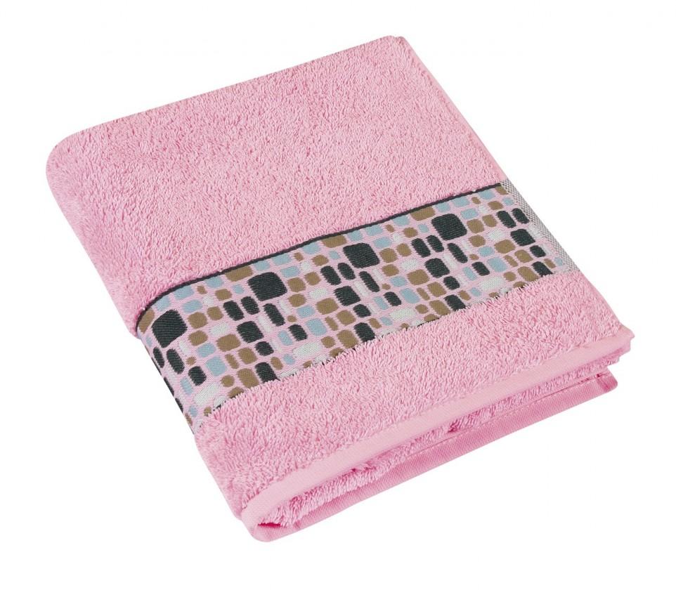 Froté uterák Kamene, 50x100cm (ružová)
