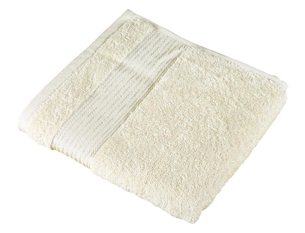 Froté uterák Kamilka, prúžok, 50x100cm (béžová)