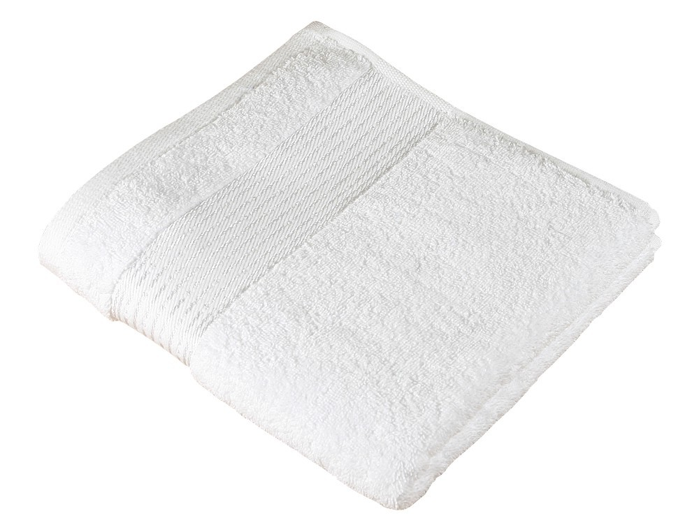 Froté uterák Kamilka, prúžok, 50x100cm (biela)