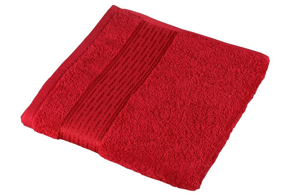 Froté uterák Kamilka, prúžok, 50x100cm (červená)