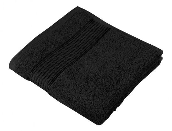 Froté uterák Kamilka, prúžok, 50x100cm (čierna)