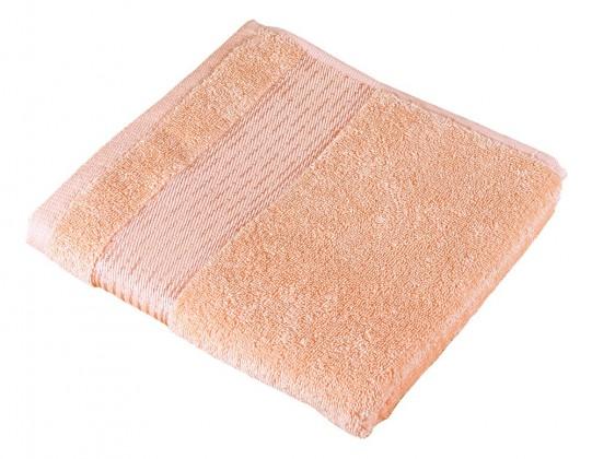 Froté uterák Kamilka, prúžok, 50x100cm (lososová)