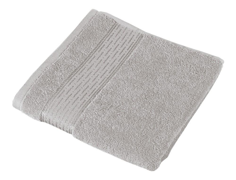 Froté uterák Kamilka, prúžok, 50x100cm (sivá)