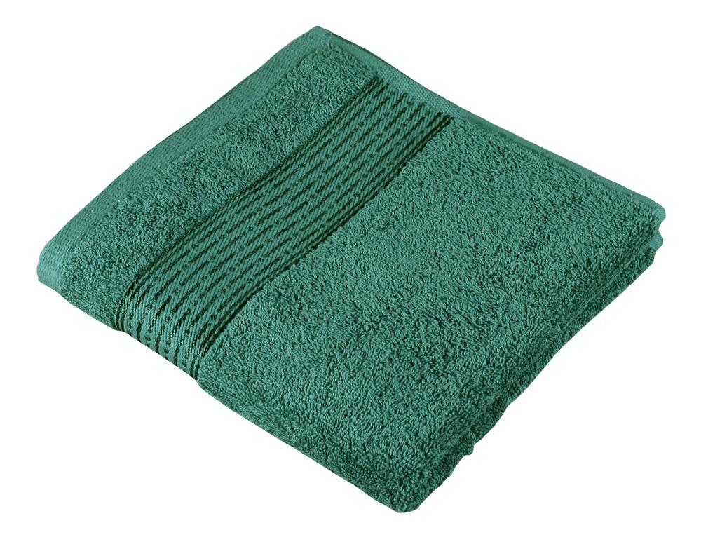 Froté uterák Kamilka, prúžok, 50x100cm (tmavo zelená)