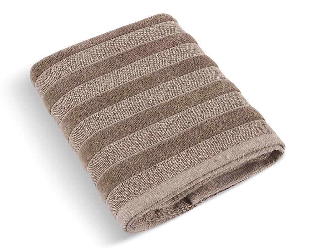 Froté uterák Luxie 570g, 74/117, 50x100cm (kávová)