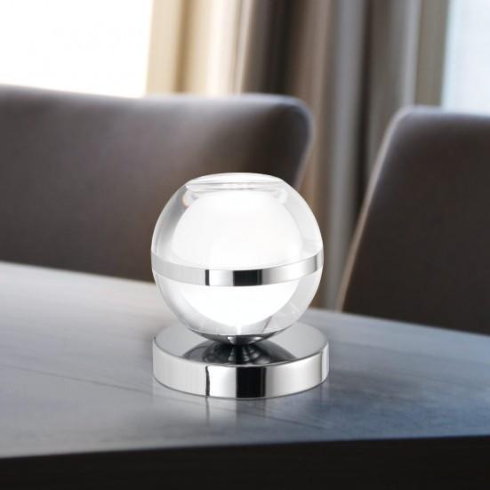Fulton - Lampička, LED (chróm)