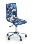 Fun 8 - detská stolička (bielo-modrá)