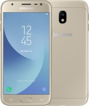 Galaxy J3 2017 LTE gold + darček