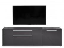 Gamble - TV stolík 570154 (antracit/antracit lesk) - II. akosť