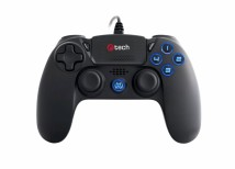 Gamepad C-TECH Themis pro PS4, podsvícený, 3m, USB