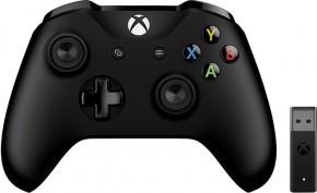 Gamepad Microsoft XBOX ONE ovládač, bezdrôtový, čierny