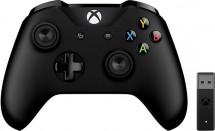 Gamepad Microsoft XBOX ONE ovládač, bezdrôtový, k PC, čierny