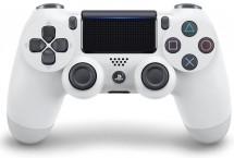 Gamepad Sony Dual Shock 4 pro PS4 v2 - ledově bílý (PS719894650)