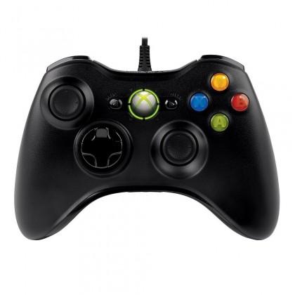 Gamepady Microsoft Xbox 360 Controller USB, čierna
