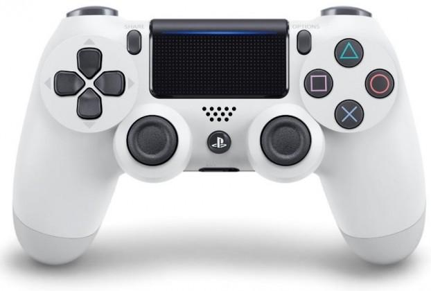 Gamepady Playstation Gamepad Sony Dual Shock 4 pro PS4 v2 - ledově bílý (PS719894650)