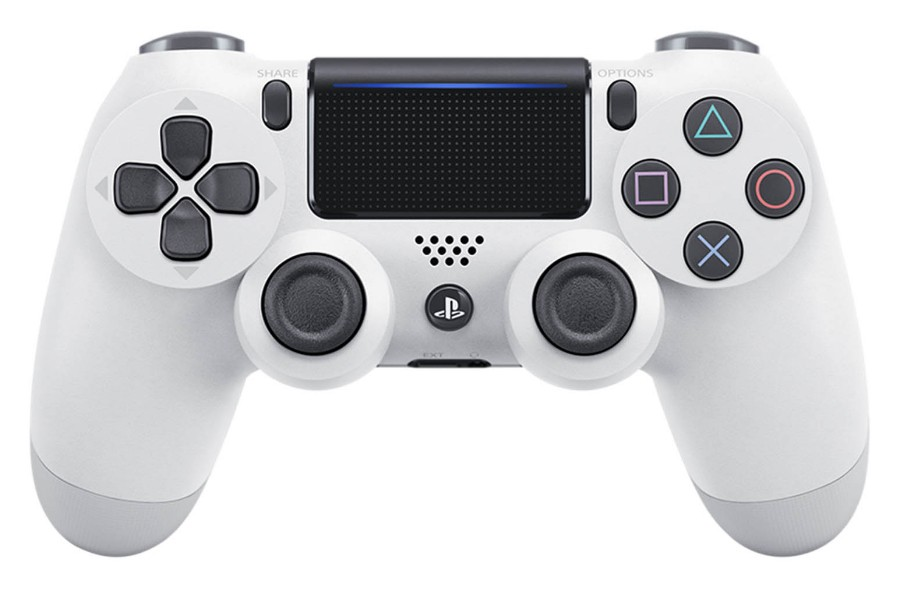 Gamepady Playstation Gamepad Sony Dual Shock 4 pro PS4 v2 - ledově bílý (PS719894650)