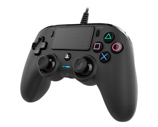 Gamepady Playstation PS4 herný ovládač Nacon Compact Controller - Coloured Black