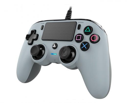 Gamepady Playstation PS4 herný ovládač Nacon Compact Controller - Coloured Grey