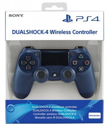 Gamepady Playstation Sony PS4 DualShock 4 v2, tmavě modrý PS719874263