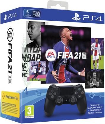 Gamepady Playstation SONY PS4 Dualshock V-2 + FIFA21
