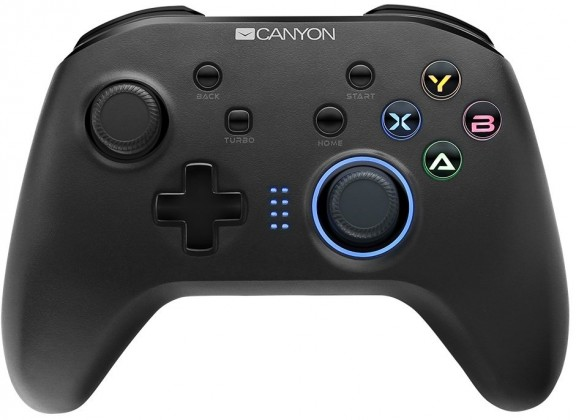 Gamepady pre PC Gamepad Canyon CND-GPW3, pre NS, PS3, PC, android, bezdrôtový