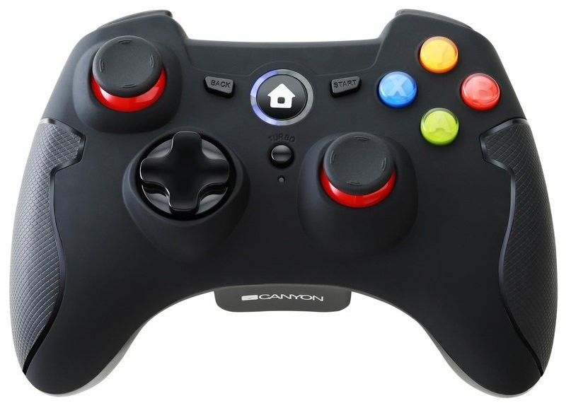 Gamepady pre PC Gamepad Canyon CND-GPW6, pre PC, android, PS3, bezdrôtový