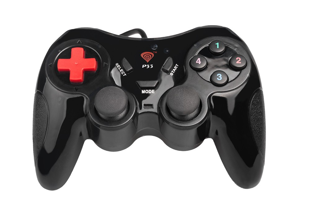 Gamepady pre PC Natec Gamepad Genesis P33, PC