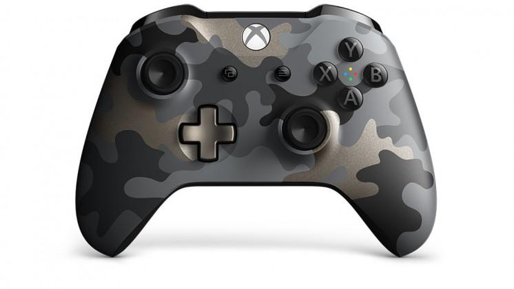 Gamepady pre Xbox bezdrôtový ovládač Xbox One SE Night Ops Camo