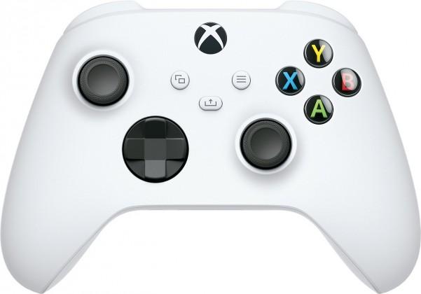 Gamepady pre Xbox Bezdrôtový ovládač Xbox One Series, biely
